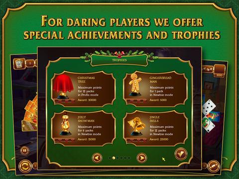 Solitaire Game. Christmas screenshot 10