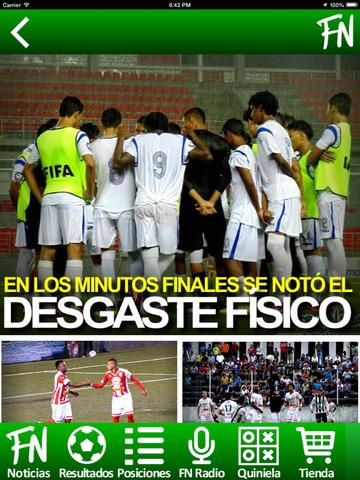 FutbolNica - fútbol Nicaragüense screenshot 7