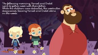Hansel & Gretel - Multi Language book screenshot 2