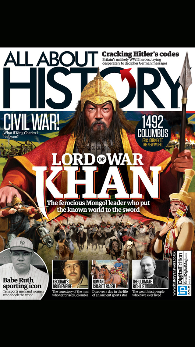 All About History Magazine: From ancient times to World War 2 and beyond screenshot #1