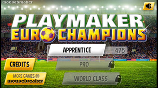 PlayMaker Euro - Football Champions - Star Soccer New Footy Match Simulator screenshot 1