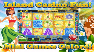 Ace Beach Vacation Slots Casino - Big Island Extreme Jackpot Slot Machine Games Free screenshot 3