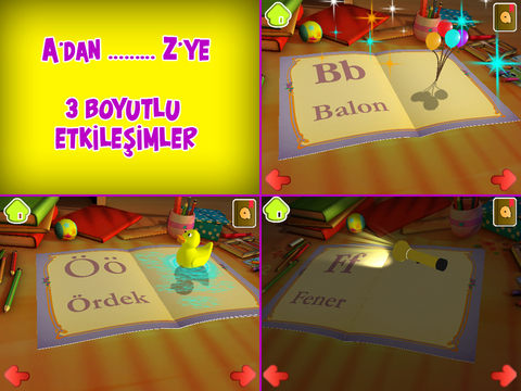 Eğlenceli Harfler ABC - 3 Boyutlu çocuk oyunu screenshot 6