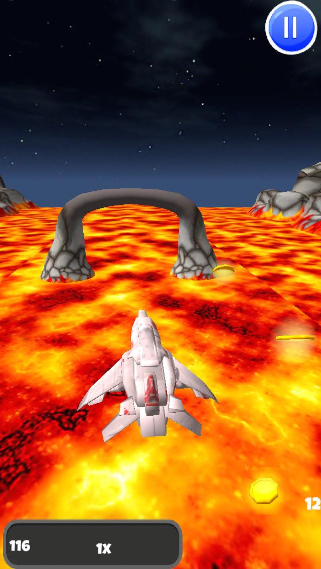 A Spaceship Galaxy: 3D Space Flight Game - FREE Edition screenshot 4