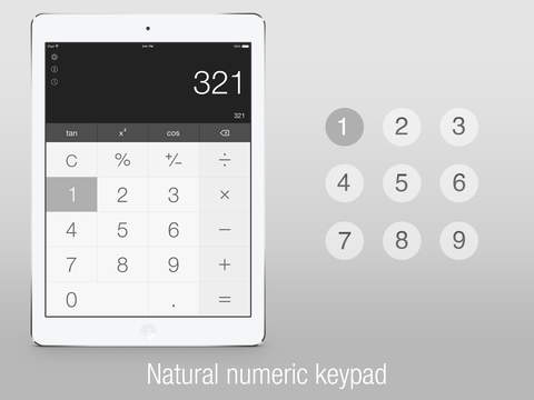 Calс One - Free Smart Calculator for iOS 8 screenshot 3