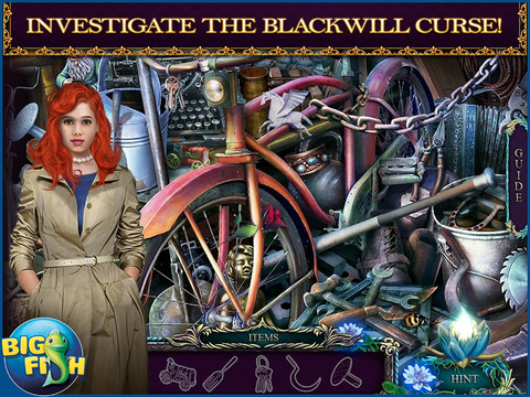Shiver: Lily's Requiem HD - A Hidden Objects Mystery (Full) screenshot 2
