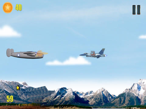 Air Combat Rivals In War HD - Full Version screenshot 10