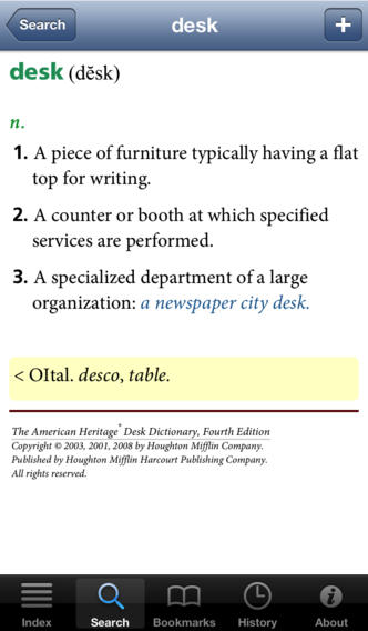American Heritage® Desk Dictionary — Fourth Edition screenshot 4