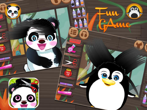 Panda & Penguin Hair Salon screenshot 9