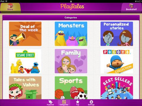 PlayTales! - Kids' Books screenshot #2