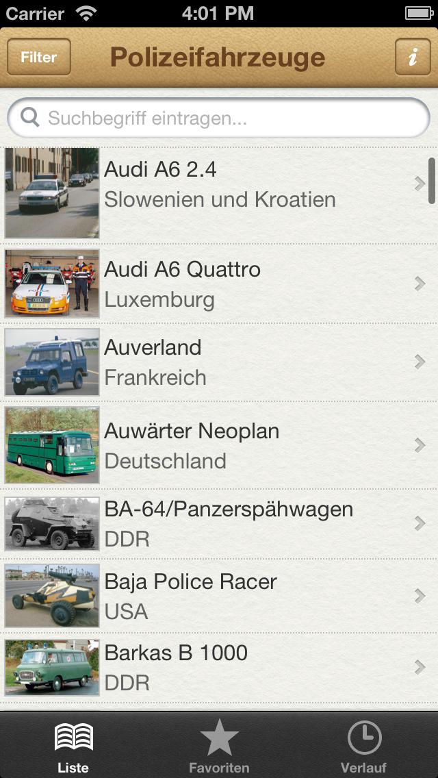 1000 Polizeifahrzeuge aus aller Welt screenshot 1