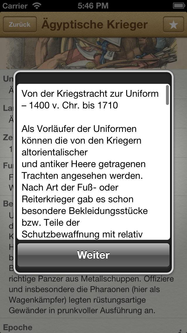1000 Uniformen aus aller Welt screenshot 3