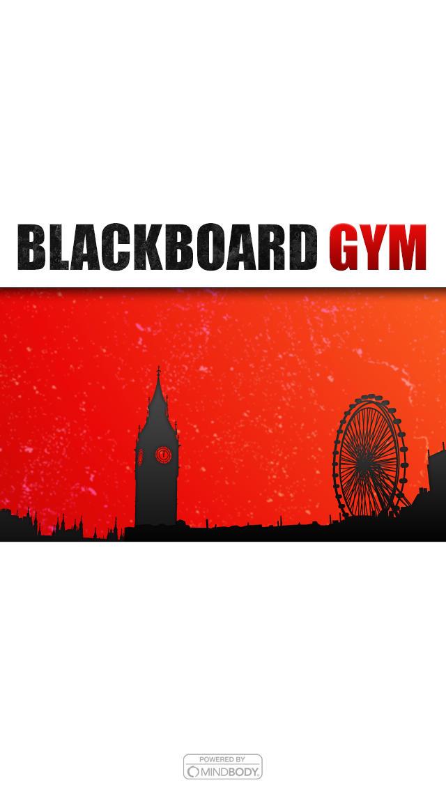 Blackboard Gym screenshot #1