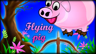 Kill the Flying Pigs Pro - Funny shooting and hunting arcades game screenshot 1