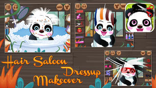 Panda & Penguin Hair Salon screenshot 1