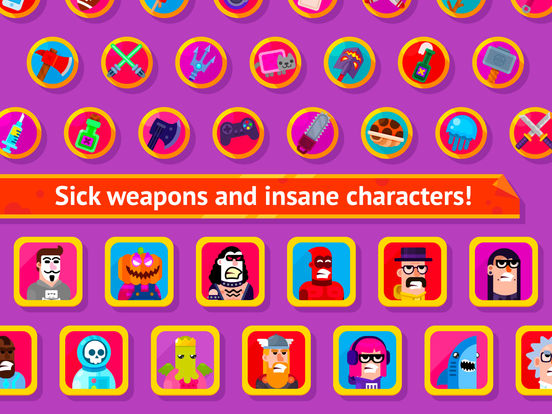 Bowmasters - Multiplayer Game screenshot 8