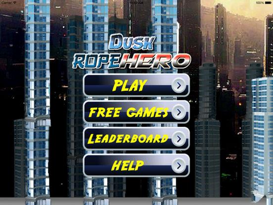 A Dusk Rope Hero PRO - A City Flying screenshot 5