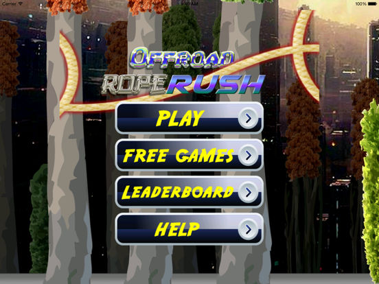 A Offroad Rope Rush - A Xtreme Swing Champion screenshot 6