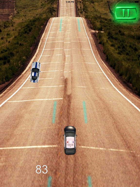 A Driving Fast Police - Racing Hovercar Game screenshot 10