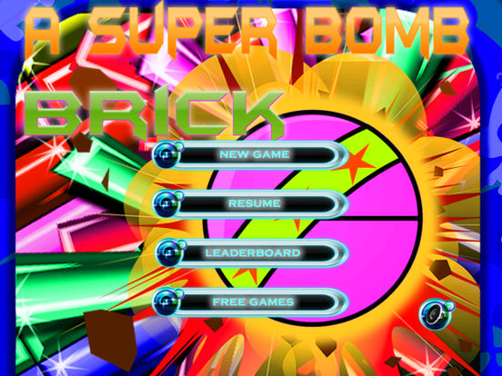 A Super Bomb Brick - Special Breaking Game screenshot 6