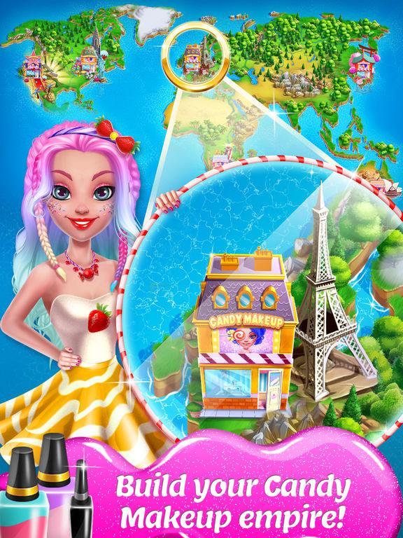 Candy Makeup Beauty Game screenshot 10