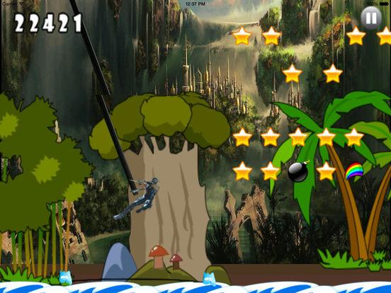 A Stunt Of Ninja Jump - Awesome Warrior Doodle Swint Game screenshot 8