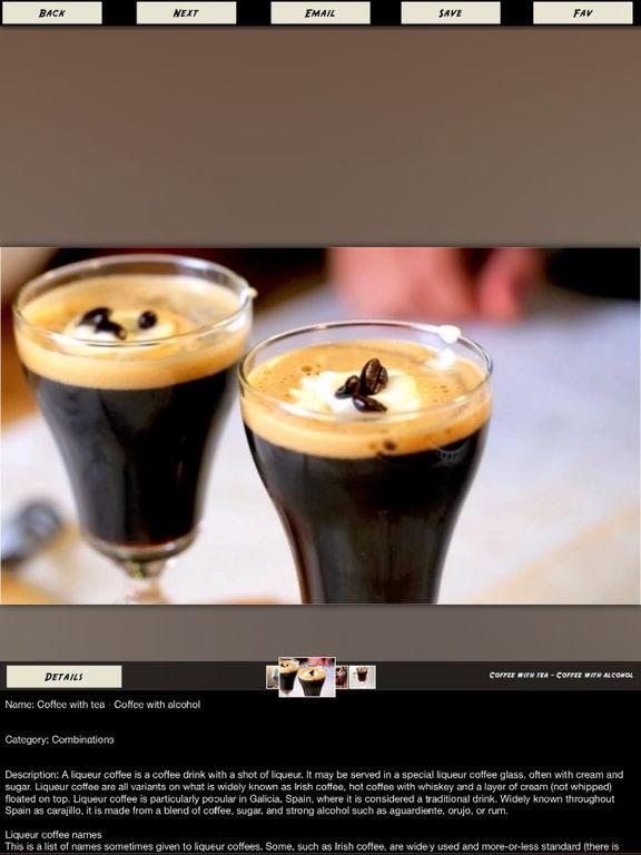 Coffee Drinks Recipes screenshot 9