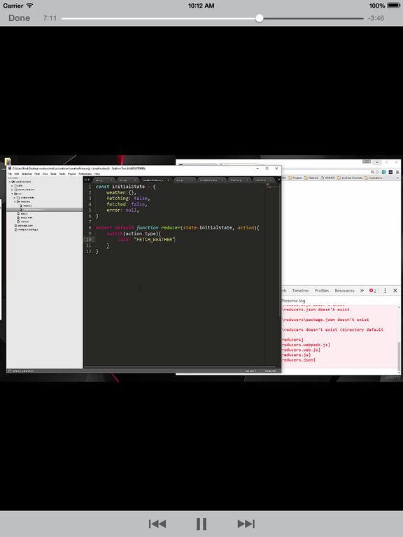 React Redux screenshot 9