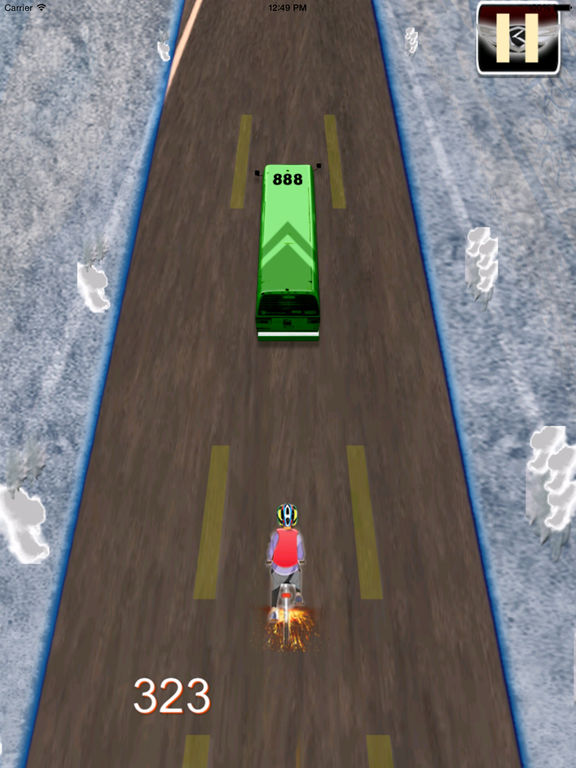 A Road Cycling Runner PRO - A Xtreme Adrenaline screenshot 9