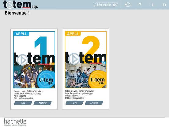 Totem app. screenshot 1