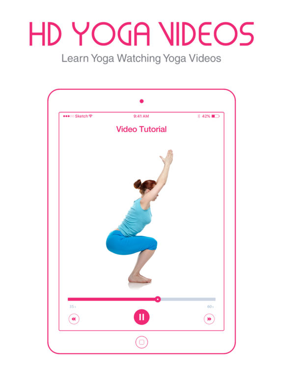 Yoga Wave: workouts and poses screenshot 8