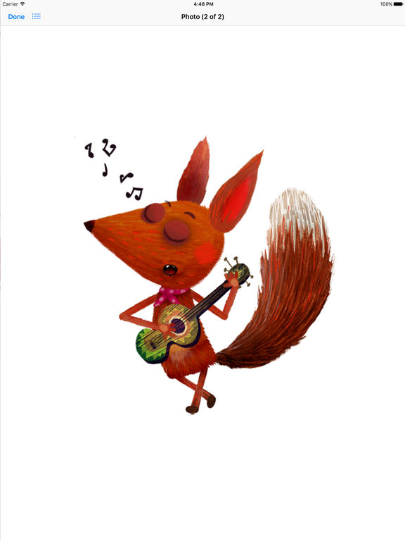 Little Fox Stickers screenshot 7