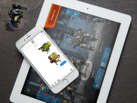 War Robots Stickers screenshot 4