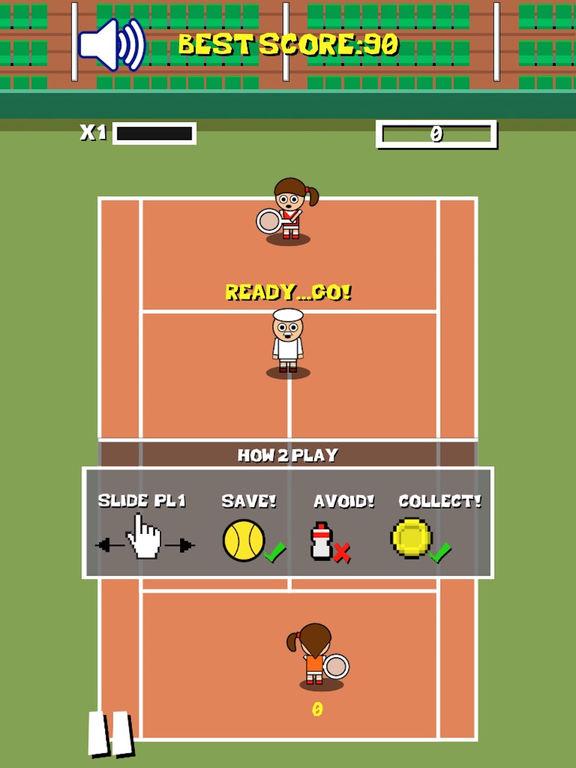 Retro Tiny Tennis screenshot 6