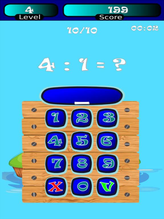 Division Math (kids math) HD screenshot 1