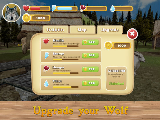 Evil Wild Wolf Simulator 3D Full screenshot 8
