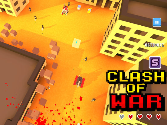 Clash of war! screenshot 6