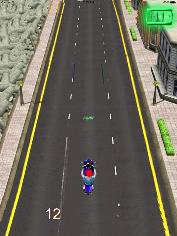 A City Guardian Motorcycle PRO - Chase Scanner Game screenshot 10