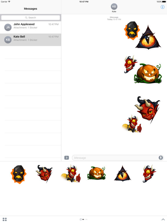 Doodle Devil Stickers Pack screenshot 4