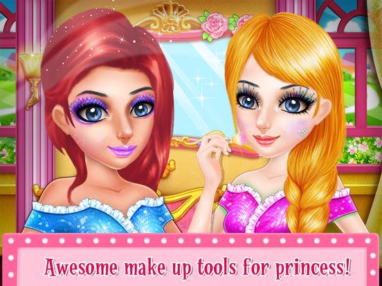 SnowFlake Princess Fairy Salon screenshot 7
