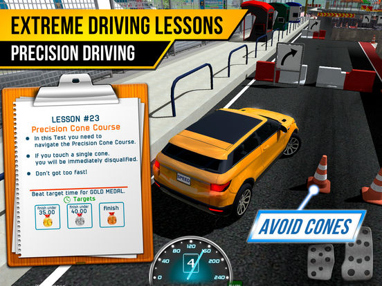 Race Driving School Car Racing Driver License Test screenshot 10