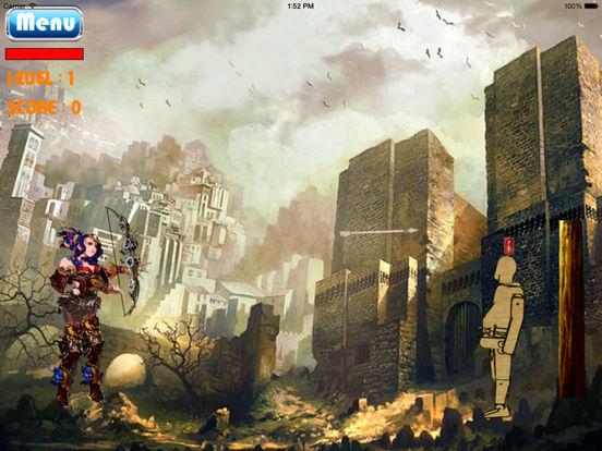 A Mega Arrow Of Live Girl HD - Super Fun Game Bow And Arrow screenshot 9