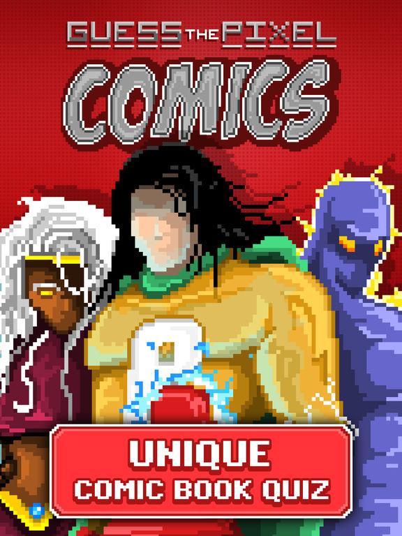 Guess the Pixel: Comics Super Heroes screenshot 6