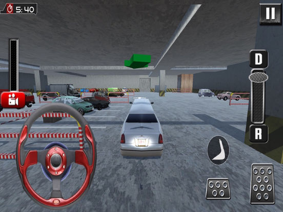Real Limousine Parking : City Driv-e Sim-ulator screenshot 8