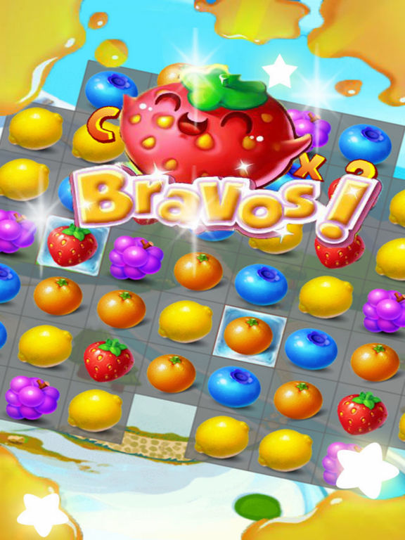 Sky Fruit War - Balst Jam screenshot 6