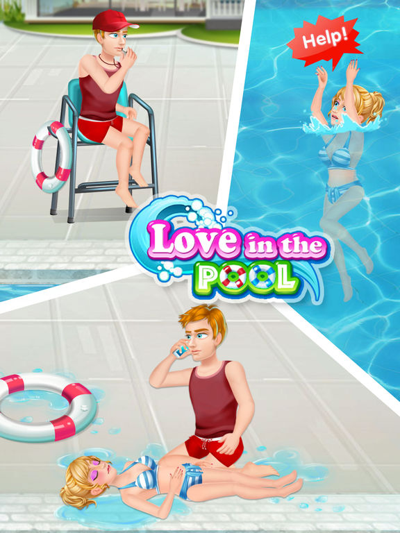 Love in the Pool - Rescue, Emergency screenshot 7