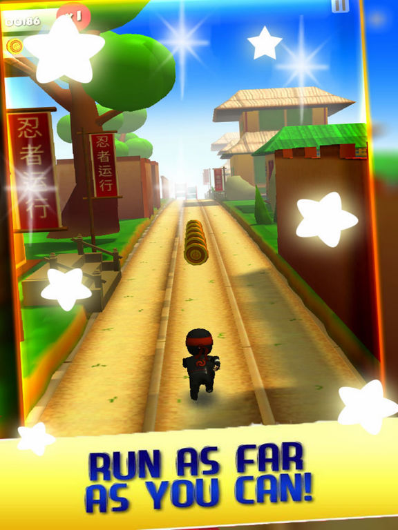 Train Ninja Adventure 3D screenshot 4