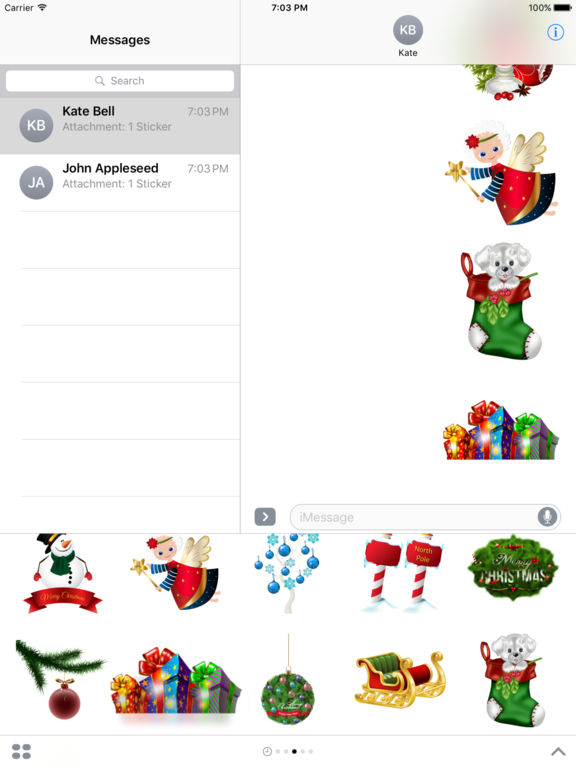 New Year Bundle Stickers for iMessage screenshot 10