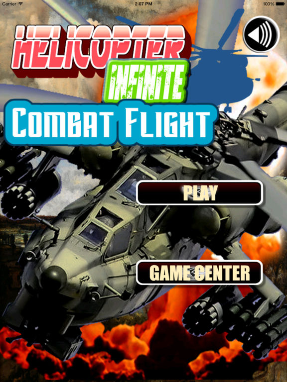 Helicopter Infinite Combat Flight Pro - Explosions In The Sky screenshot 6