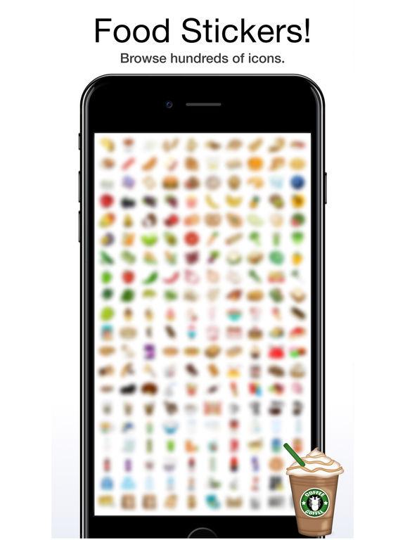 FoodMoji by Moji Stickers screenshot 6